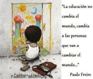 PAULO FREIRE SOBRE EDUCACION