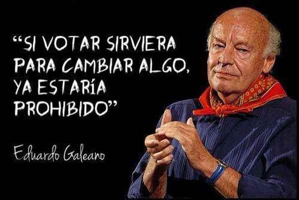 VOTAR GALEANO
